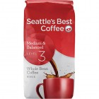 Seattle's Best Coffee Medium & Balanced Whole Bean Coffee - Signature Level 3 - 6 Pack/340 Grams (12 oz)