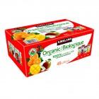 Kirkland Signature Organic 100% Juice Variety 40 x 200 ml