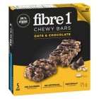 Fibre 1 Chewy Granola Bars Oats & Chocolate 5/25g