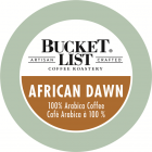 Bucket List Coffee Roastery African Dawn K-Cups - 24/Box