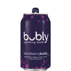 Bubly Sparkling Water, Blackberry, 12 Cans/355 mL