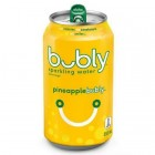 Bubly Sparkling Water, Pineapple, 12 Cans/355 mL