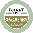 Bucket List Coffee Roastery Copa Dark Decaf K-Cups - 24/Box