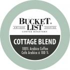 Bucket List Coffee Roastery Cottage Blend K-Cups - 24/Box