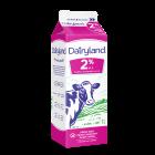Dairyland 2% Partly Skimmed Milk - 1 Litre Carton