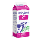 Dairyland 2% Partly Skimmed Milk - 2 Litre Carton