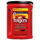 Folgers Classic Roast Coffee - 1.36 Kg