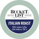 Bucket List Coffee Roastery Italian Roast K-Cups - 24/Box