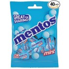 Mentos Individually Wrapped Mint Candy 40 Pack
