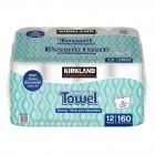 Kirkland Signature Create-A-Size Premium Big Roll Paper Towels 12 Pack