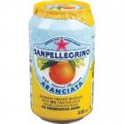 San Pellegrino Aranciata Orange Soda Cans 24/330mL
