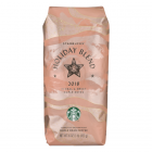 Starbucks Holiday Blend Whole Bean Coffee - 6/1lb