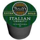 Tully's Italian Roast Coffee K-Cups 24/Box